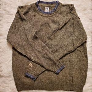 Vintage Columbia Sweater - 100% Shetland wool - L
